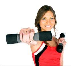Sporten om stofwisseling te verhogen